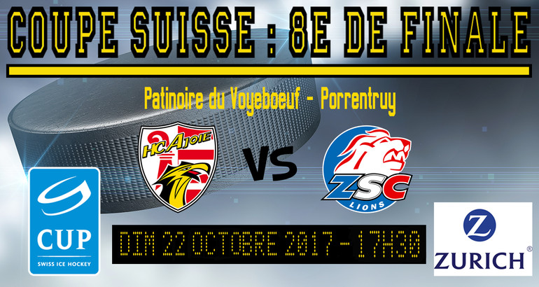 Coupe suisse 22.10.17