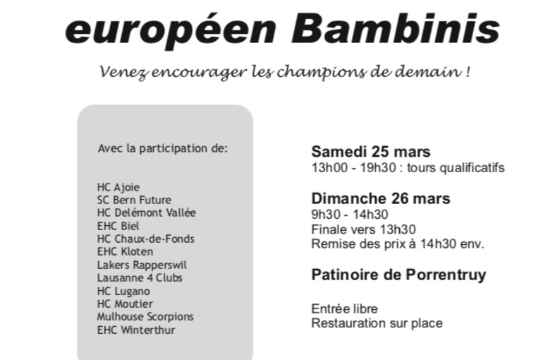 Tournoi international Bambinis