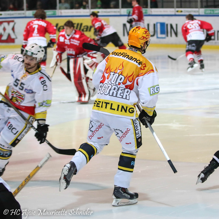 [SAISON 2014 / 2015] 02.01.2015 - Red-Ice - Ajoie (3-2)