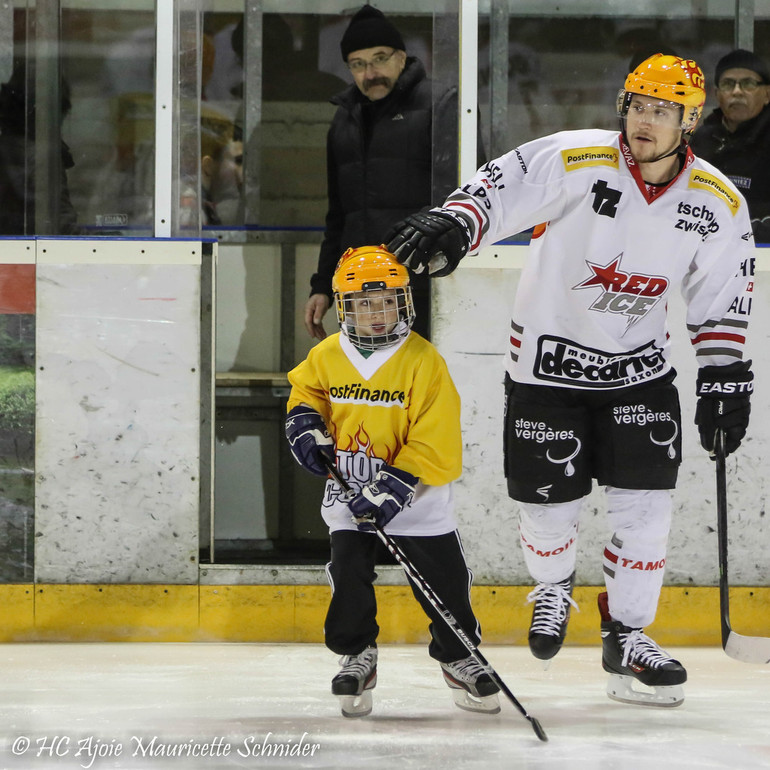 [SAISON 2014 / 2015] 21.12.2014 - Ajoie - Red-Ice (5-0)