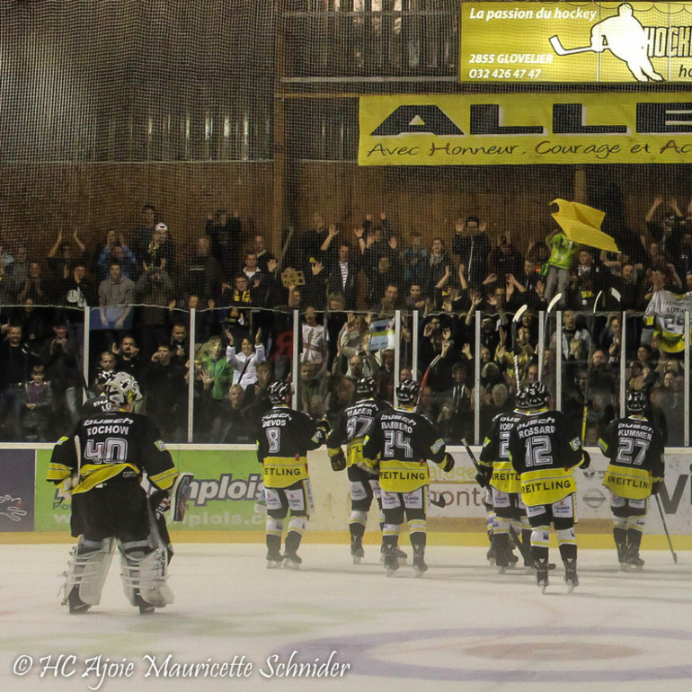 HC Ajoie - Red Ice 3-1 12.09.2015